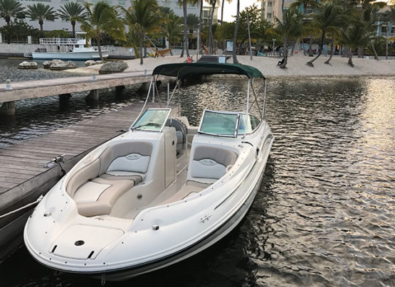 private boat in cayman island